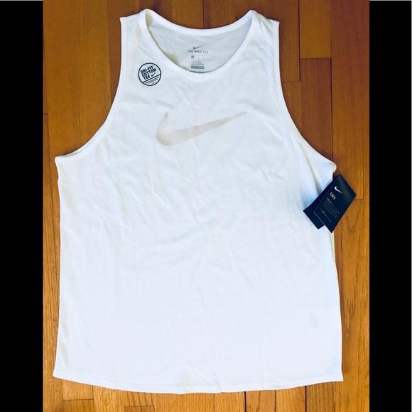 Nike Tops - NWT White Nike Dri-Fit Cotton Tee